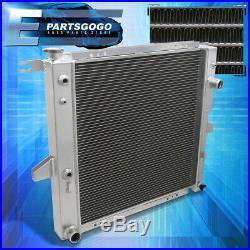 For 98-11 Ford Ranger / Explorer / B4000 2 Row Dual Core Full Aluminum Radiator
