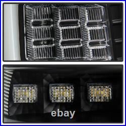 For 99-04 Jeep Grand Cherokee FULL LED 3D Light Bar Black Tail Brake Signal Lamp