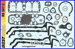 Ford 221 21-stud Flathead Full Engine Gasket Set/Kit BEST withGraphTite 1932-38