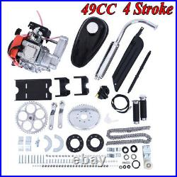 Full 49CC 4-Stroke GAS PETROL MOTORIZED BIKE BICYCLE ENGINE MOTOR KIT SCOOTER