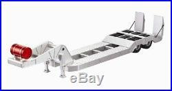 Full Alloy Low Loader Engineering Trailer for Tamiya Hercules 114 RC Trucks