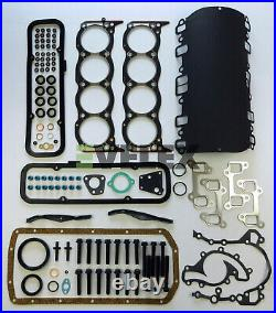 Full Engine Head Gasket Set And Bolts For Range Rover & Discovery V8