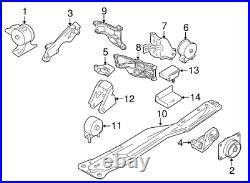 Full Engine Mount Set for Suzuki SX4 2007-2012 FWD 2WD
