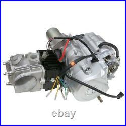 Full Kit 125cc Engine Motor Semi Auto Reverse for ATV Quad Bike Go Kart Taotao