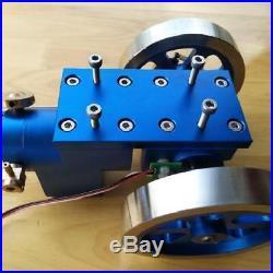 Full Metal Combustion Engine Hit & Miss Gas Model Engine Science Developmental
