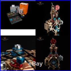 Full Metal Teaching 124 Model Single Cylinder Gasoline Engine Building Kit Kids