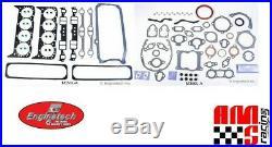 Full Overhaul Gasket Set for Chevrolet Mercruiser Marine 350 5.7L 1pc Rear Seal