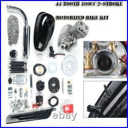 Full Set 100cc 2-Stroke Bicycle Engine Kit Gas Motorized Motor Bike Modified Set