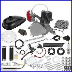 Full Set 100cc 2 Stroke Petrol Gas Motor Engine Kit Set Bike Bicycle Motorized