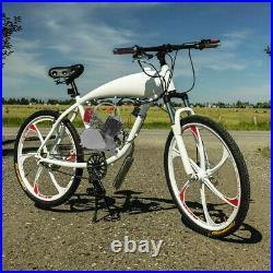 Full Set 100cc Bicycle Engine Kit 2-Stroke Gas Motorized Motor Bike Modified