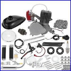 Full Set 100cc Bike Bicycle Motorized 2 Stroke Petrol Gas Motor Engine Kits Set