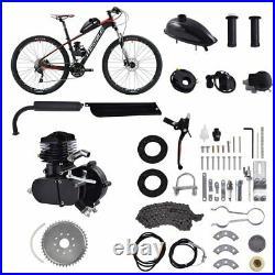 Full Set 80cc 2 Stroke Gas Petrol Bike Engine Motor Kit DIY Motorized Bicycle US