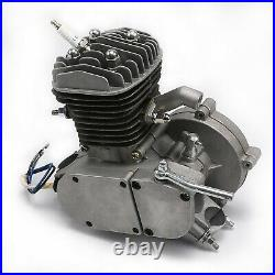 Full Set 80cc 2 Stroke Petrol Gas Motor Engine Kit Set For Motorized Bucycle DIY