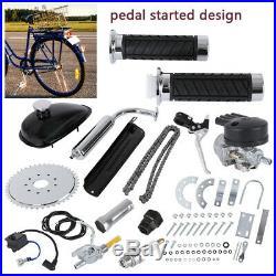 Full Set 80cc Bike Bicycle Motorized 2 Stroke Petrol Gas Motor Engine Kit Set US