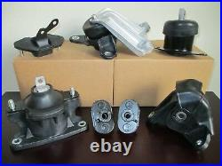 Full Set Engine, Transmission & Suspension Mounts For 2008-2012 Honda Accord 2.4l
