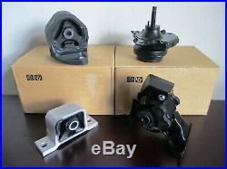 Full Set Of Engine & Transmission Mounts For 2003-2006 Honda Element (2.4l, A/t)