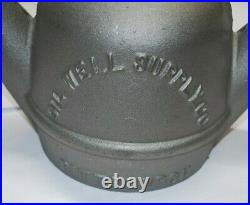 Full Size Yellow Dog Oil Lantern Gas Engine Motor