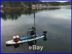 Full kit to change your sup to a gas power engine boat