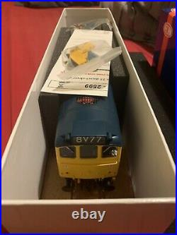 Heljan Class 25/3 Rail Blue 2527 Br Blue Withfull Yellow Ends