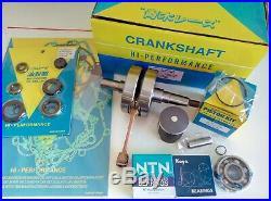 Honda CR80 1992-2002 Full Engine Rebuild Kit Crank Mains Piston Gaskets Mitaka
