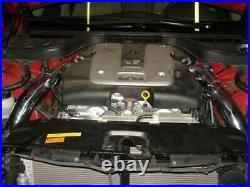 Injen Black SP Cold Air Intake For 2007-2013 Infinti G35 G37 Coupe Sedan 3.7L