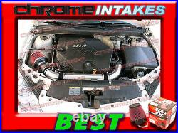K&n+black Red 07 08-11 Chevy Malibu/pontiac G6 3.6 3.6l V6 Full Air Intake Kit