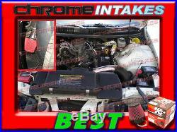 K&n+black Red 98-02 Chevy Camaro/pontiac Firebird 3.8l Full Cold Air Intake Kit