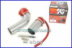 K&n+red 2007 2008 2009 Pontiac G5 2.2 2.2l 2.4 2.4l I4 Full Air Intake Kit