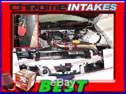 93 CAMARO Z28 FIREBIRD FORMULA TRANS AM 5.7L V8 FULL COLD AIR INTAKE Black Red 3