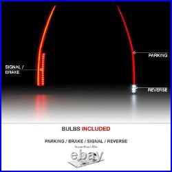 LATEST GEN STYLE 07-14 Cadillac Escalade Black FULL-LED Tube Tail Signal Light