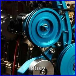 Mini Car Engine Assembly Kit Full Metal 4 Cylinder Car Engine Building Kit