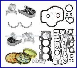 New 01-06 Toyota Camry Solara 2azfe 2.4l Full Set Engine Re-ring Kit