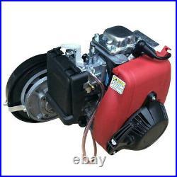 New 4-Stroke 53cc Gas Petrol Engine Full Set Bicycle Motorized Engine Motor Kit