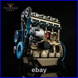 New Arrival Teching 124 Four-Cylinder Engine Full Aluminium Alloy Model 357pcs