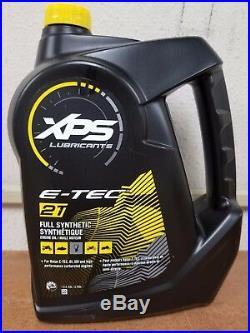 New XPS 2 Stroke Full Synthetic Engine Oil Gallon 779127 Ski-Doo 3 Gallon Pack