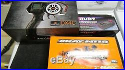 New XRAY NT18 Nitro RC full kit 4WD with electronic Pack /engine and Starter