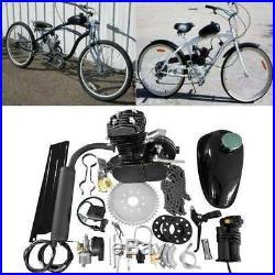 Newest Updated 2 Stroke 80cc Motor Engine Kit For Motorized Bicycle DIY Full Set