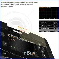 OBD2 Auto Scanner Tool Full Systems Engine Airbag ABS SRS EPB SAS DPF TPMS Reset