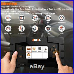 OBD2 Scanner Diagnostic Tool Full System Engine AT ABS Airbag SRS EPB Oil Reset