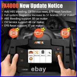 OBD2 Scanner Full System Diagnostic Tool ABS SRS Engine Oil Reset EPB Diagnostic