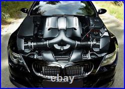 OPEN EXPOSED ENGINE'- Car Bonnet Wrap Decal Full Color Graphics Vinyl Sticker