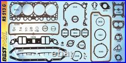 Oldsmobile Olds 371 394 Full Engine Gasket Set/Kit BEST Head+Intake 1959-60