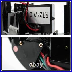 Plug&Play For 10-13 Chevy Camaro 4PCS LAMBO STYLE Smoke Full LED Tail Light Lamp