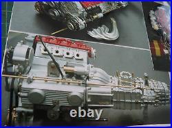 Pocher 1/8 Scale Ferrari F40 Full Engine Transkit Super Detail 400 pcs