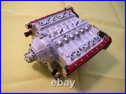 Pocher 1/8 Scale Ferrari Testarossa Full Metal Engine Block Kit LAST ONE