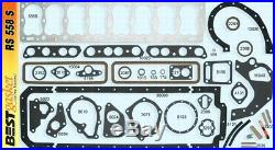 Pontiac 268 Full Engine Gasket Set/Kit BEST COPPER Head+Manifold+Oil Pan 1950-54