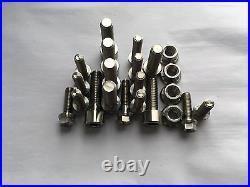 RRRacing Titanium Aprilia RS 125 Engine Rebuild Set Bolts Full Power RS125 06-12