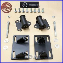 SR Sonoma S10 Full Engine Mount Adapter Plates Urethane Swap Kit LSX LS1 LS2
