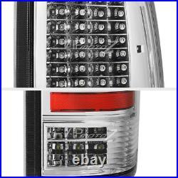 STERLING CHROME 2009-2018 Dodge Ram 1500 2500 3500 FULL LED Rear Tail Lights