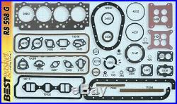 Studebaker 224 259 289 Full Engine Gasket Set/Kit BEST Head+Intake+Oil Pan 55-64